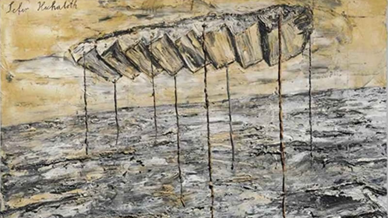 Afbeelding Anselm Kiefer - Sefer Hechaloth