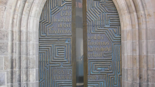 Meester-Eckhart-Portaal, Predigerkirche Erfurt | Michael Sander