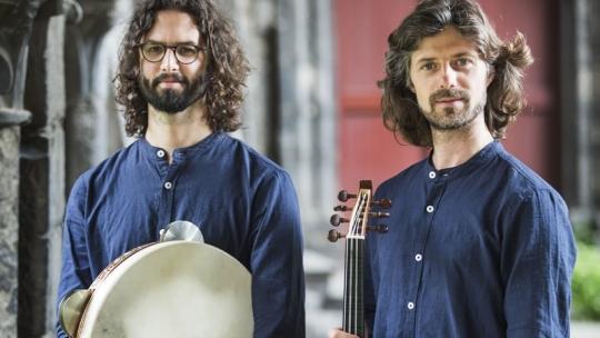 Tristan Driessens & Robbe Kieckens (foto Dieter Teleman)