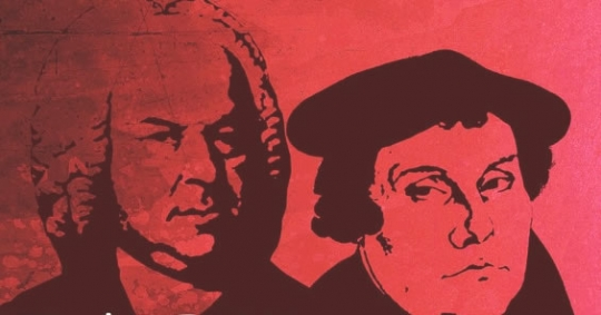 Bach en Luther