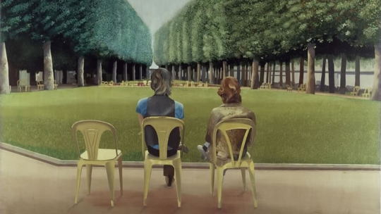 David Hockney Le Parc des Sources