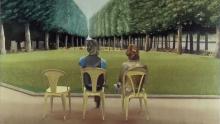 David Hockney Le Parc des Sources