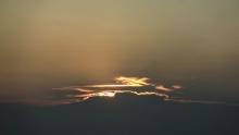 Wolken zonsopkomst